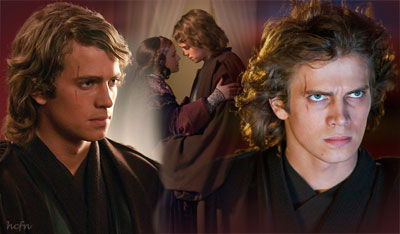 Hayden Christensen plays tragic hero Anakin Skywalker in Star Wars Episode III, Revenge of the Sith.