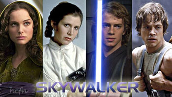 Hayden Christensen and Skywalker family and may the 4th be with you.