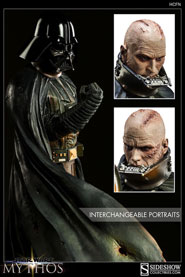 Hayden Christensen as Darth Vader Mythos Collectibles Statue.