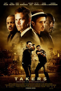 Hayden Christensen, T.I., Paul Walker, Idris Elba in brand new poster for Takers.