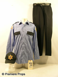Hayden Christensen - AJ's security guard uniform from Premiere Props.