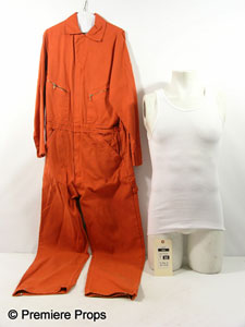 Hayden Christensen's orange jumpsuit as worn in Takers.