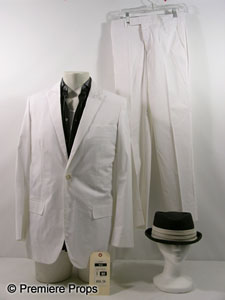 Hayden Christensen - White screen worn suit from Takers
