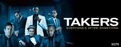 Hayden Christensen, Idris Elba, Paul Walker, T.I. and Matt Dillon in Takers coming August 20, 2010