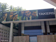 Takers Marquee on Sunset Blvd. - Hayden Christensen News