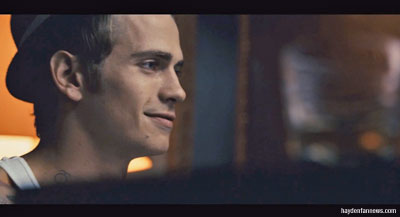 Hayden Christensen plays a little jazz piano in Takers.