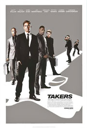 Takers crew Hayden Christensen, Idris Elba, Paul Walker, T.I. Smooth Criminals