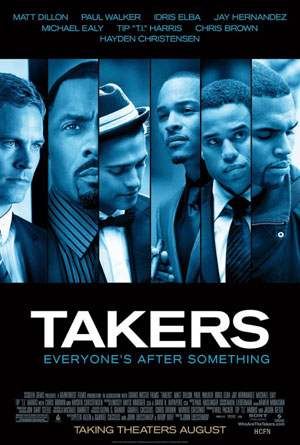 Hayden Christensen plays AJ in Takers in theaters August 27, 2010