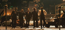 Hayden Christensen joins the Takers crew for a night on the town.