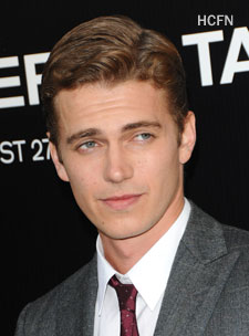 Hayden Christensen on red carpet for Takers Premiere