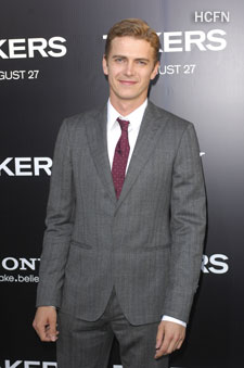 Hayden Christensen at Arclight Cinerama Dome Premiere of Takers