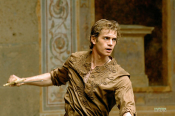 Vote for Hayden Christensen in the role of Gaborn for the upcoming Runelords movie.