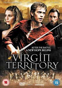 Hayden Christensen in Virgin Territory UK dvd cover