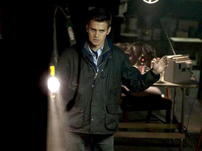 Hayden Christensen in a confrontation in Vanishing on 7th Street.
