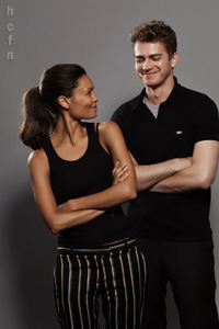 Hayden Christensen at TIFF, September 2010 with Thandie NewTon.