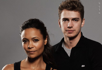 Hayden Christensen and Thandie Newton promote Vanishing on 7th Street at TIFF
