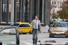 Hayden Christensen on an empty Detroit street in VANISHING ON 7TH STREET, a Magnet Release.  Photo courtesy of Magnet Releasing.