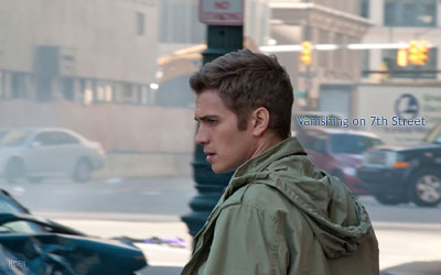 Wallpaper: Hayden Christensen in a scene from Vanishing on 7th Street.