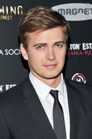 Hayden Christensen in New York for Cinema Society screening of Vanishing on 7th Street.