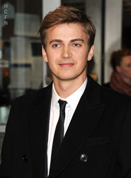 Hayden Christensen looking dapper in a dark suit for New York premiere of Vanishing on 7th Street.