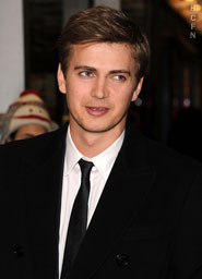 Hayden Christensen looking chipper as he arrives for the New York screening of Vanishingon 7th Street.