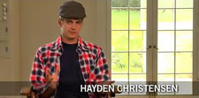 Hayden Christensen talks about reading Vanishing on 7th Street script.