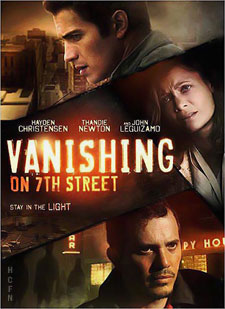 Vanishing on 7th Street starring Hayden Christensen, Thandie Newton and John Leguizamo on DVD and Blu-ray to include alternate endings.