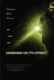 Hayden Christensen tries to stay in the light in Vanishing on 7th Street.