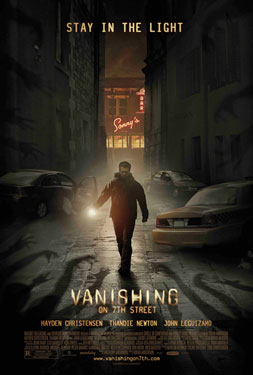 Hayden Christensen tries to stay in the light in Vanishing on 7th Street